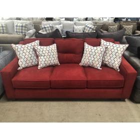 Cranapple Red Track Arm Sofa