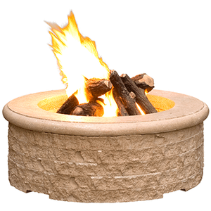 American Fyre Designs - Chiseled Fire Pit