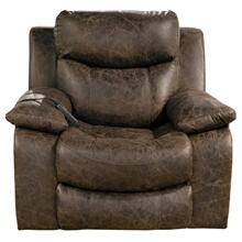 Pwr Headrest/Lumbar Pwr Lay Flat Recliner w/Heat & Msg