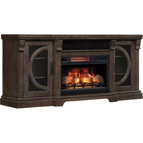 Classic Flame Geneview Media Mantle Fireplace