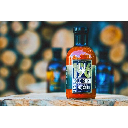 Utz Works - Gold Rush 196 Mustard Based BBQ Sauce