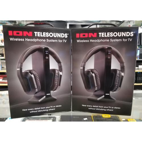Telesounds Wireless Headphone System for TV