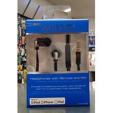 See Details - Auvio Headphones w/ Remote and Mic