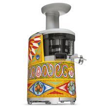 Smeg 50s Retro Style Design Aesthethic Slow Juicer, Dolce & Gabbana