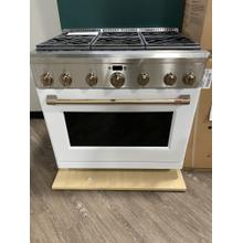 "***WEST LOCATION*** Caf  36"" All-Gas Professional Range with 6 Burners (Natural Gas) **NEW DISPLAY MODEL***"