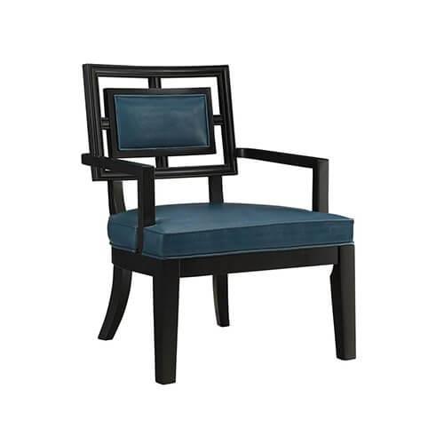 Duchess Teal Blue Accent Chair