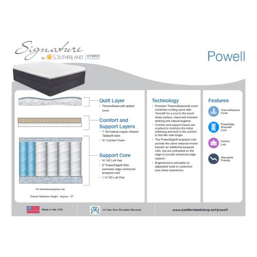 Southerland - Signature Hybrid Collection - Powell