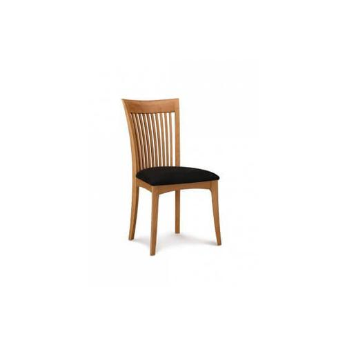 SARAH SIDECHAIR WITH UPHOLSTERED SEAT
