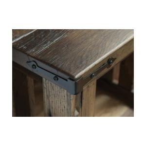Amish Furniture - Kimbolton Coffee Table in Reclaimed Barnwood