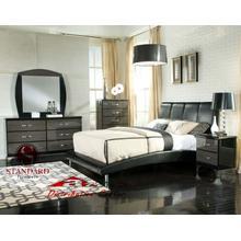 Standard Furniture 99500 Cooperstown Black Bedroom set Houston Texas USA Aztec Furniture