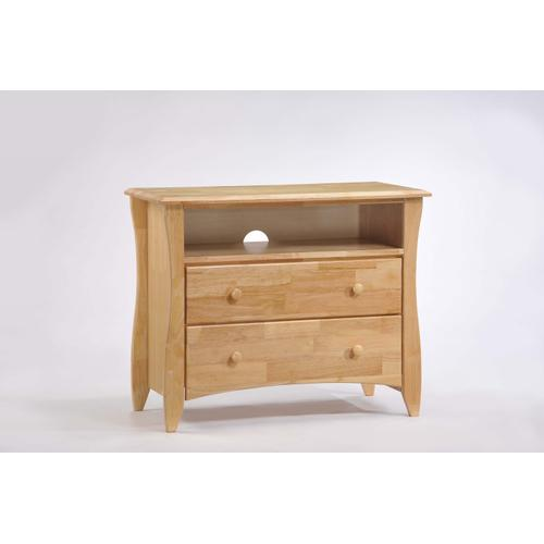 Clove TV Stand Natural Finish