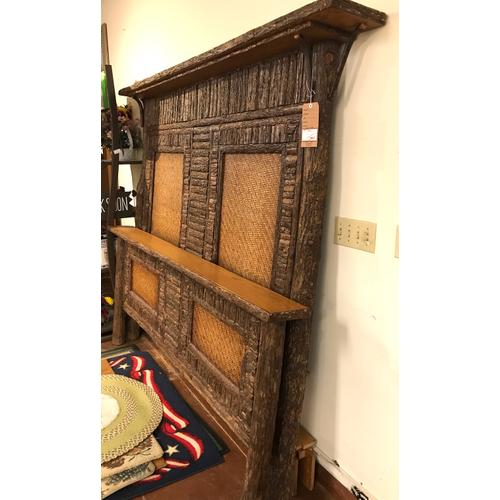 Old Hickory Furniture - Big Ranch bed frame. As is.