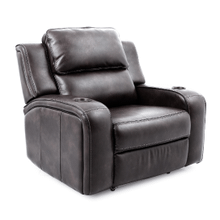 Beacon Power Headrest Recliner in Grey     (70086-1-25667/25292,40117)