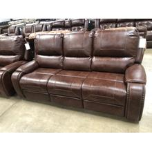 See Details - Reclining Sofa with Drop Down Console