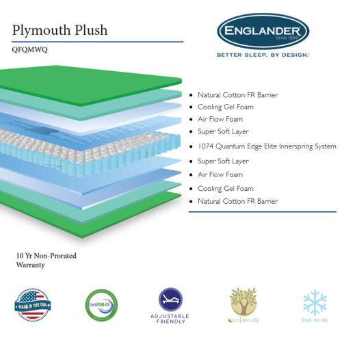 Englander Mattress - Plymouth - Plush