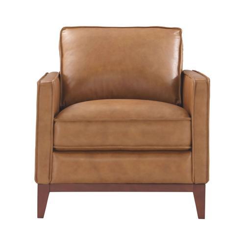 Leather Italia USA - 6394 Newport Chair Camel