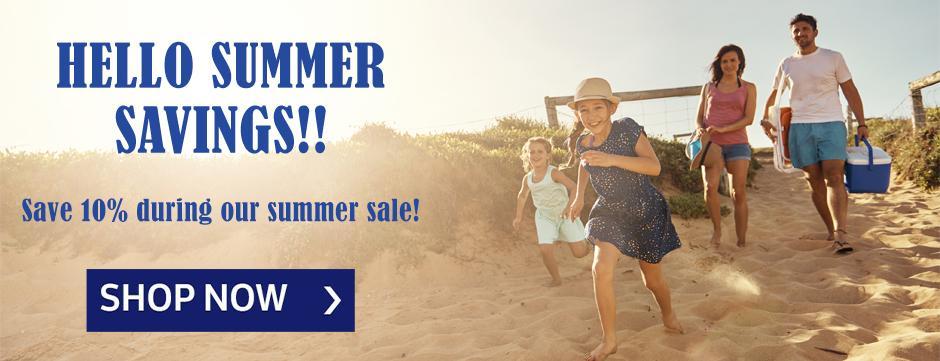 Hello Summer Savings!