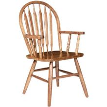 See Details - Arrowback Arm Chair