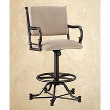 Burnet Tilt -Swivel Barstool