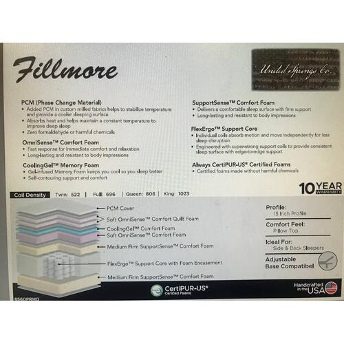 Fillmore Super Pillow Top