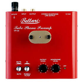 Bellari vp130 tube phono preamp with a built in headphone amplifier