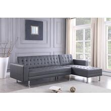 Bobby - 2 PC Sectional - Grey