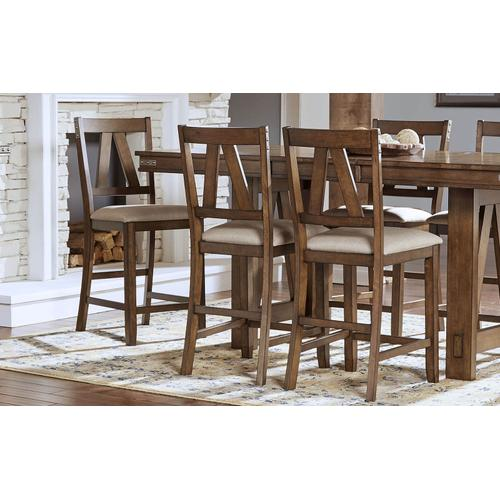 Eastwood Gathering Height Table and 6 Stools