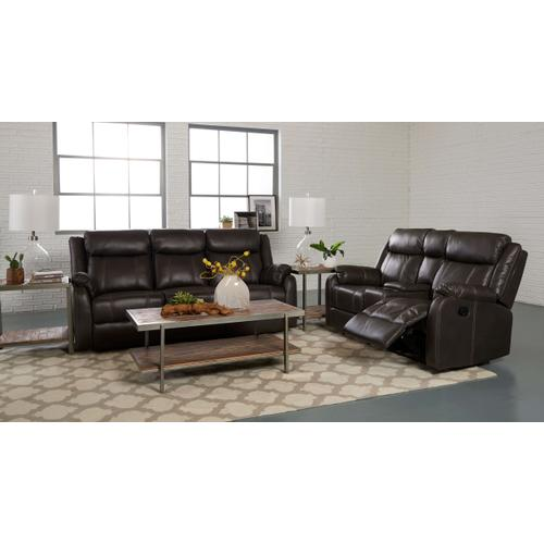 Klaussner - RECLINING SOFA WITH DROP DOWN