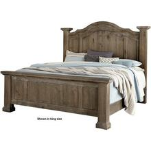 King Headboard Rustic Hills Collection
