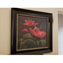 Art Effects Vibrant Red II Framed Picture