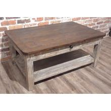 BWOM  Coffee Table - Barnwood Mexico