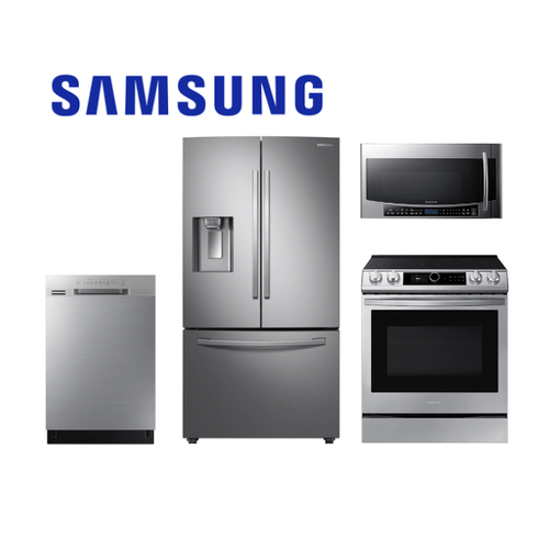 Samsung Stainless Steel 4-Piece Kitchen Package