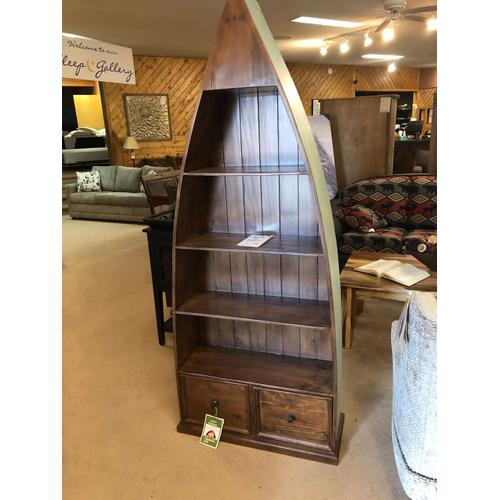 Nautical Boat Bookcase