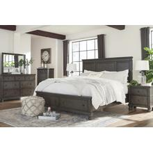 Devensted Queen Bed Dresser and Mirror