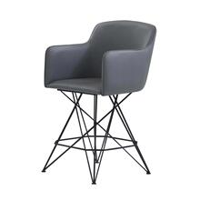 Bar Stools Grey/Black