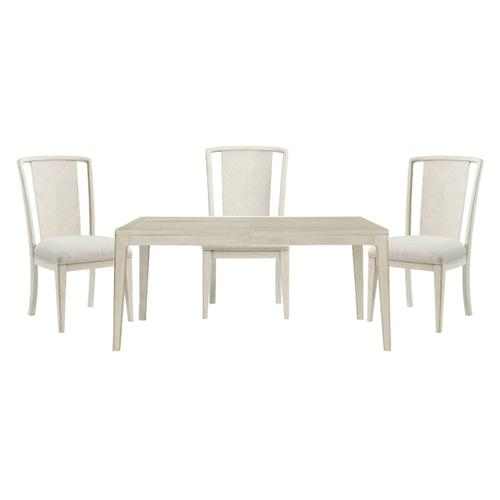 Lilly Dining Table and 6 Side Chairs