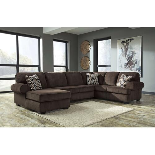 Jinllingsly 3 Piece Sectional Chocolate