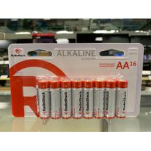Alkaline Battery AA 16-Pack
