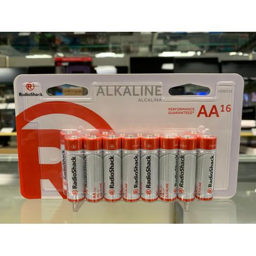RadioShack - Alkaline Battery AA 16-Pack