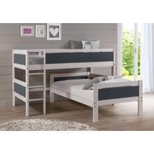 Twin/Twin Low Loft Bed
