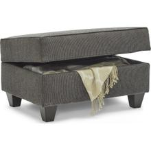 UNITED 8018-095 Moreland Steel Storage Ottoman