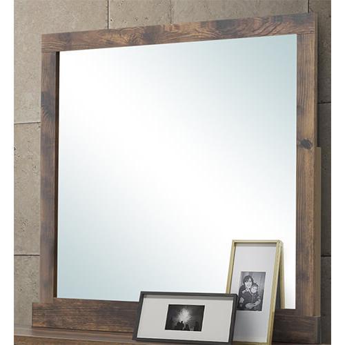 New Classic Furniture - Campbell Mirror in Ranchero Finish