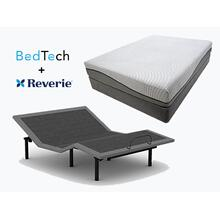 BEDTECH Tranquility Mattress & REVERIE Adjustable Power Base- QUEEN
