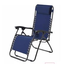 Blue Oxford Zero Gravity Chair