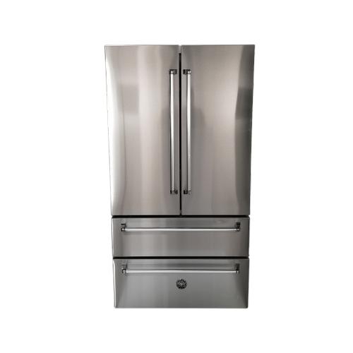 """36"""" Freestanding French Door Refrigerator"""