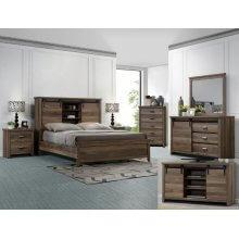 Calhoun Kg Bed, Dresser, Mirror, Chest and Nightstand