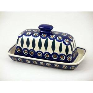 Gallery - Peacock Butter Dish