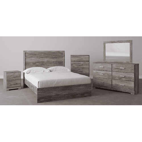 B2587 4PC SET: Dresser, Mirror, Chest, & Nightstand (Ralinski)
