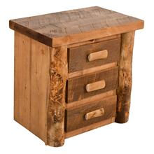 A529 3-Drawer Nightstand
