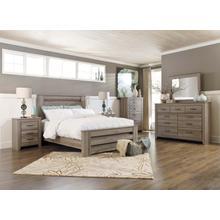 Zelen - Queen Poster Bed, Dresser, Mirror, 1 X Nightstand